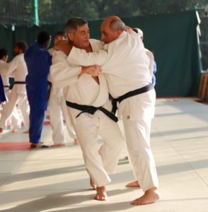 due grandi maestri di judo Beppe e Alfredo Vismara